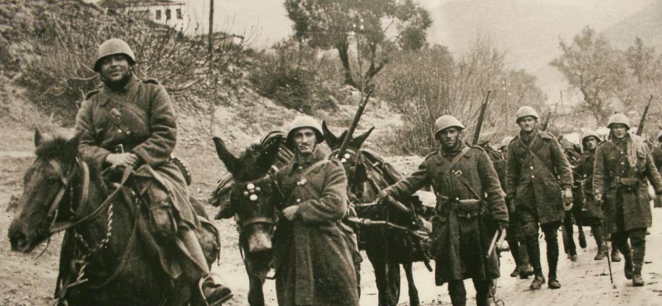 Ελληνες στυρατιώτες στο μέτωπο