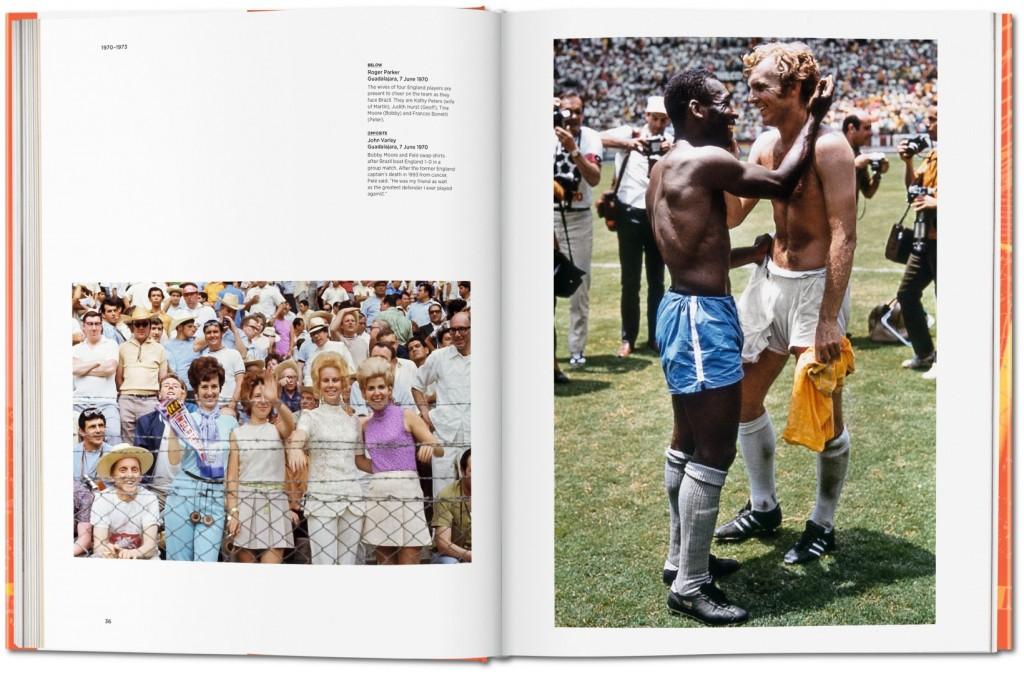 Σελίδες από το λεύκωμα της Taschen για την εποχή της αθωότητας στο ποδόσφαιρο