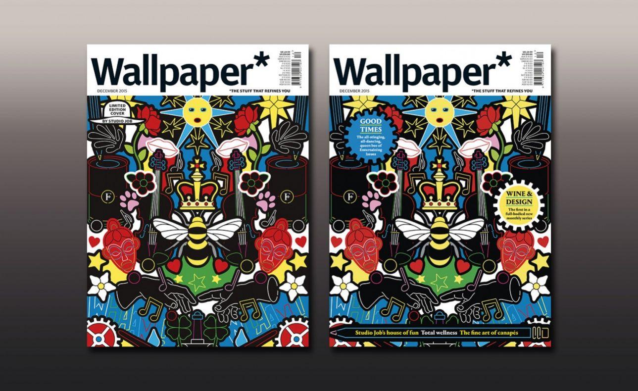 To τεύχος Δεκεμβρίου,  το διακοσιοστό της έκδοσης, περιλαμβάνει και τη λίστα με τις 200  σημαντικότερες προσωπικότητες στο χώρο του design και του lifestyle (www.wallpaper.com)