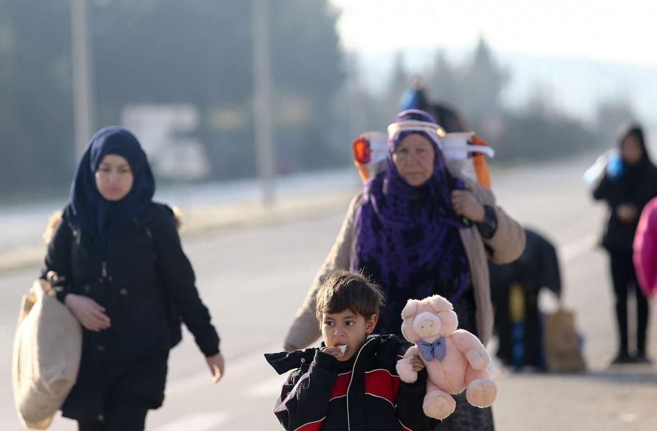Επιστροφή από την Ειδομένη, όπου τα σύνορα είναι κλειστά