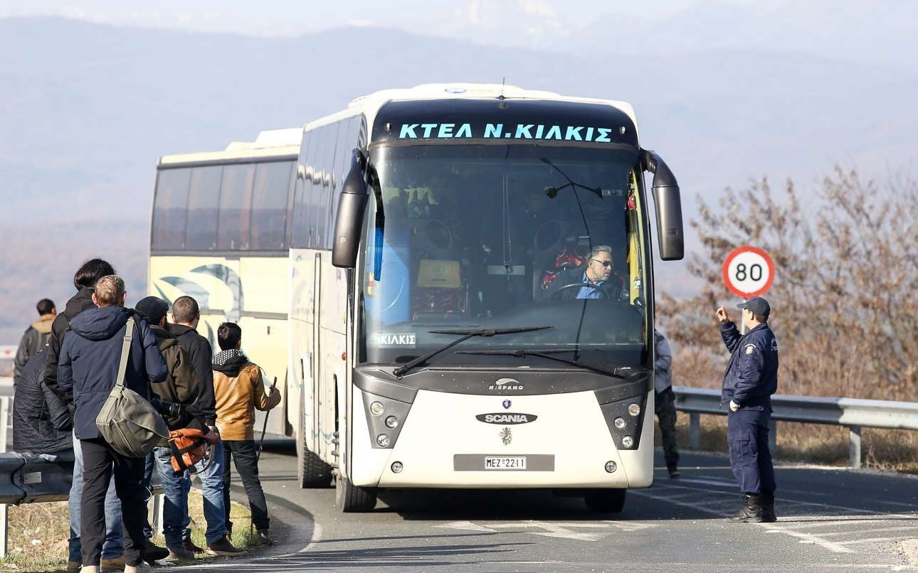 Εικόνες από την επιστροφή από την Ειδομένη