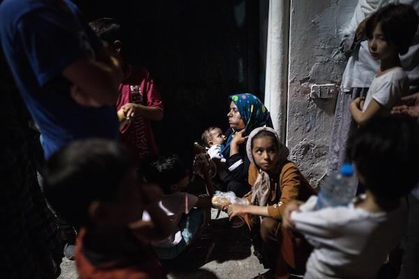 Αύγουστος 2015, πρόσφυγες στην Κω (SOOC)