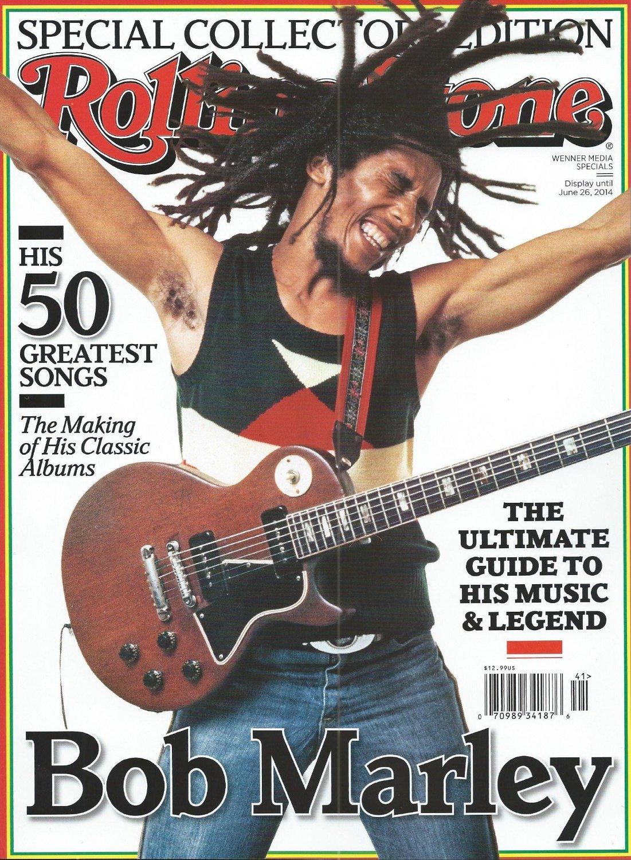 Ιούνιος του 2004, τo αφιερωματικό εξώφυλλο του περιοδικού Rolling Stone στον Μάρλεϊ που δύο δεκαετίες μετά τον θάνατό του παραμένει συνώνυμος του ήχου του καλοκαιριού.