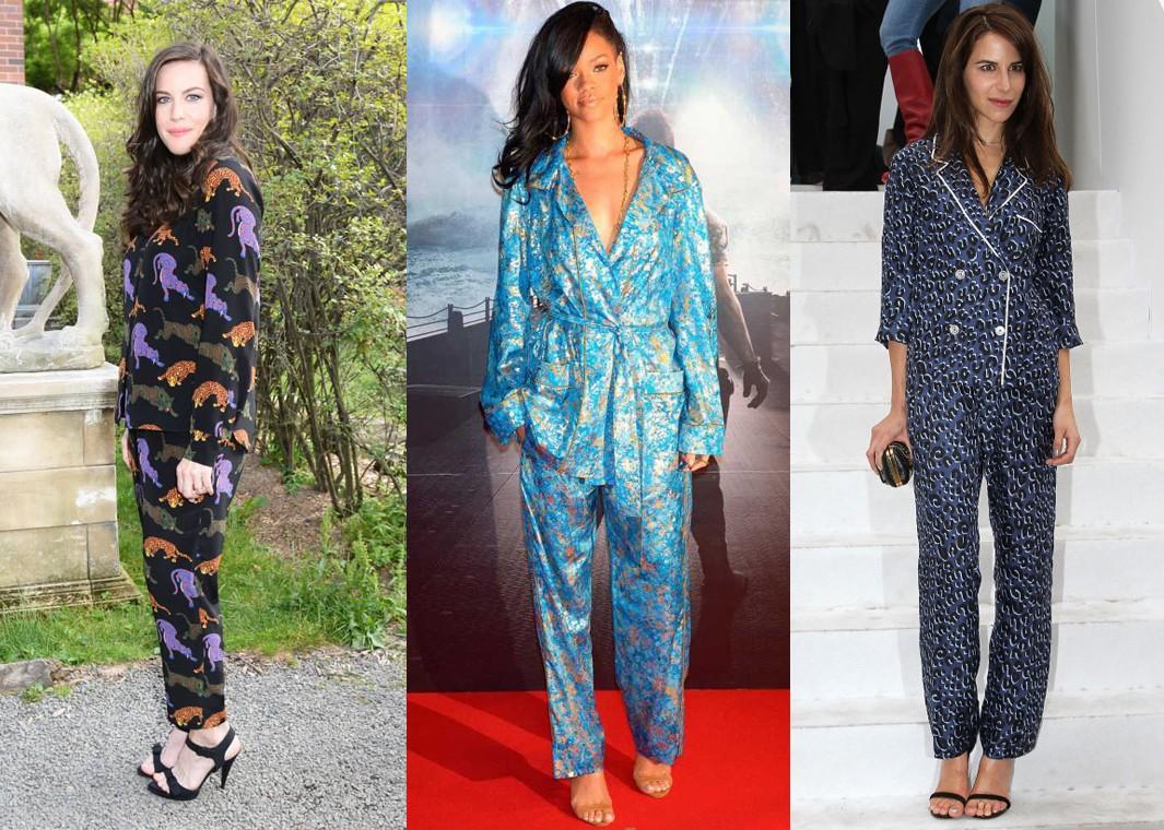 Γιατί οι πιο κομψές γυναίκες φοράνε πιτζάμες στις δημόσιες ... 259cabffb63