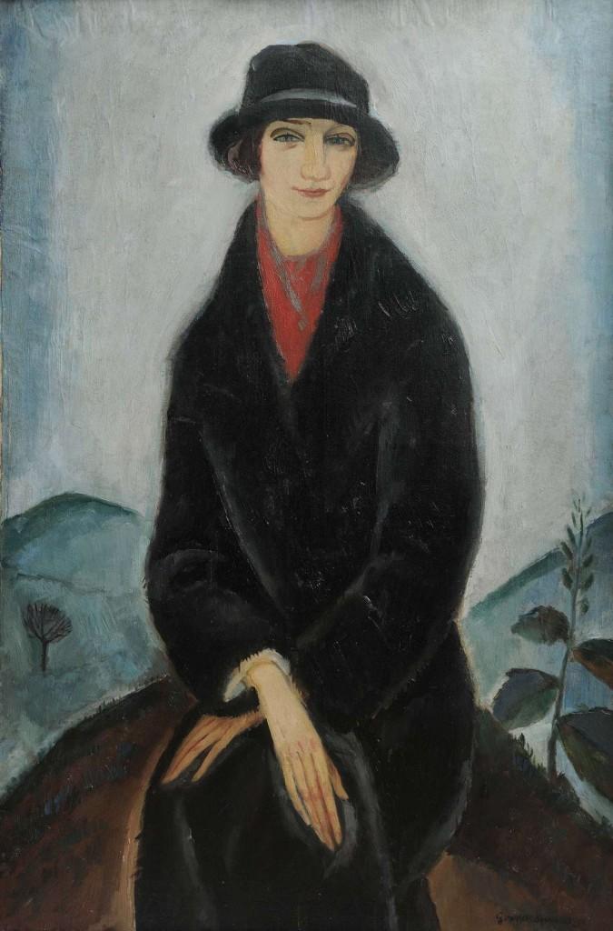 Γ.Γουναρόπουλος,Η κυρία Λουριώτη,1923-24,Συλλογή Λ. Ν. Τ.