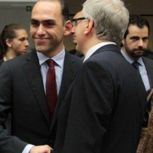European finance ministers meeting in Brussels, Belgium, on Saturday, July 11, 2015. / Συνεδρίαση των υπουργών Οικονομικών της Ευρωζώνης στις Βρυξέλλες, Βέλγιο στις 11 Ιουλίου 2015.