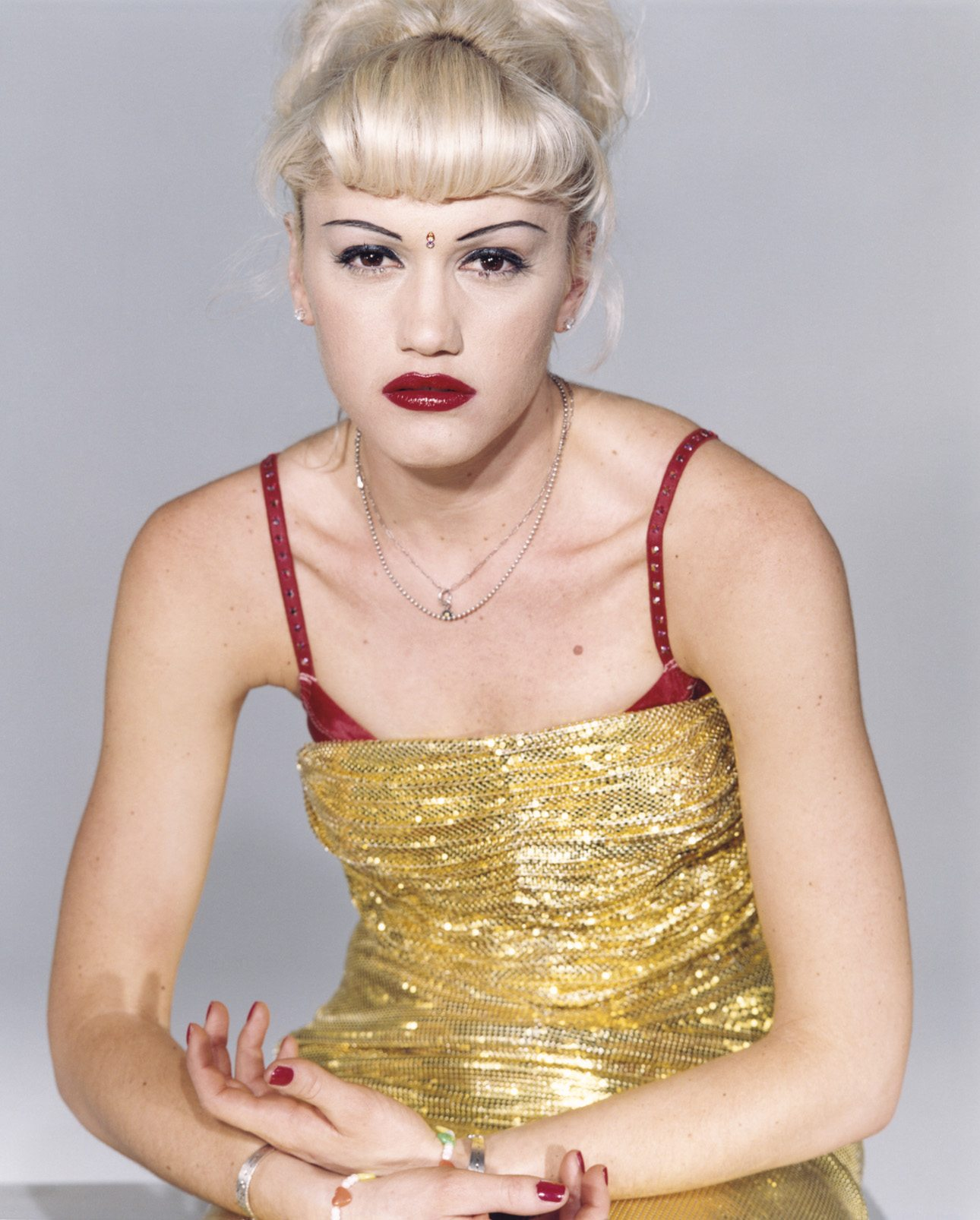 Gwen Stefani from 'No Doubt', April 1996, New York , from the series'Pourquoi m'as-tu abandonnée?'