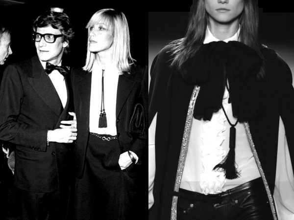 INTO THE ARCHIVES Yves Saint Laurent and Betty Catroux 1969… Saint Laurent SS--2013