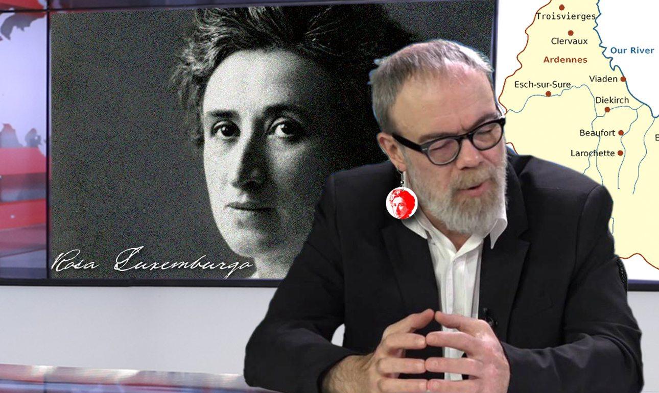 Ο Γιώργος Κυρίτσης στο studio της ΕΡΤ όπου στήριξε τη νέα του δήλωση με αδειάσειστα στοιχεία