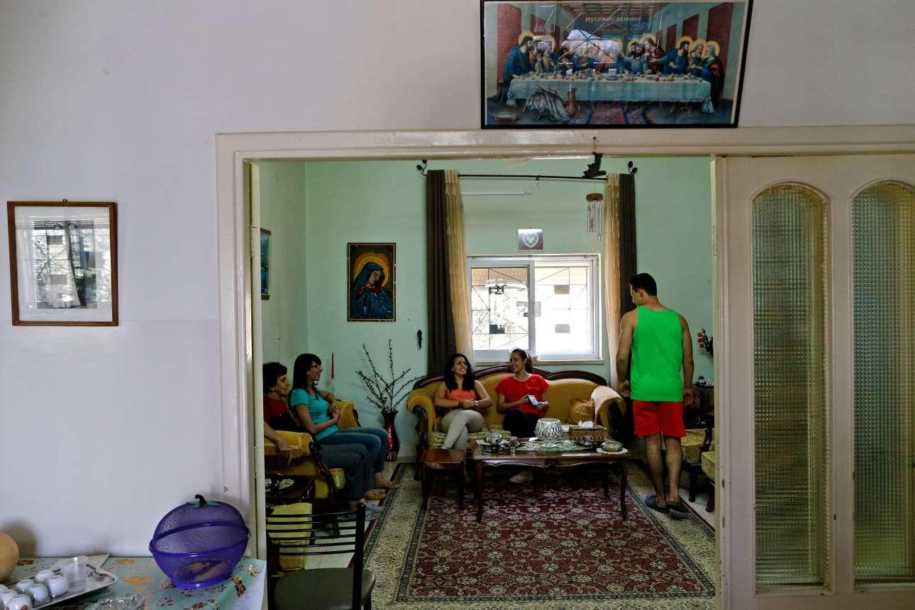 Οικογενειακές στιγμές στο σπίτι της στην Βηθλεέμ