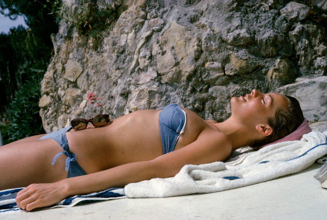 German actress Romy SCHNEIDER. 1963.