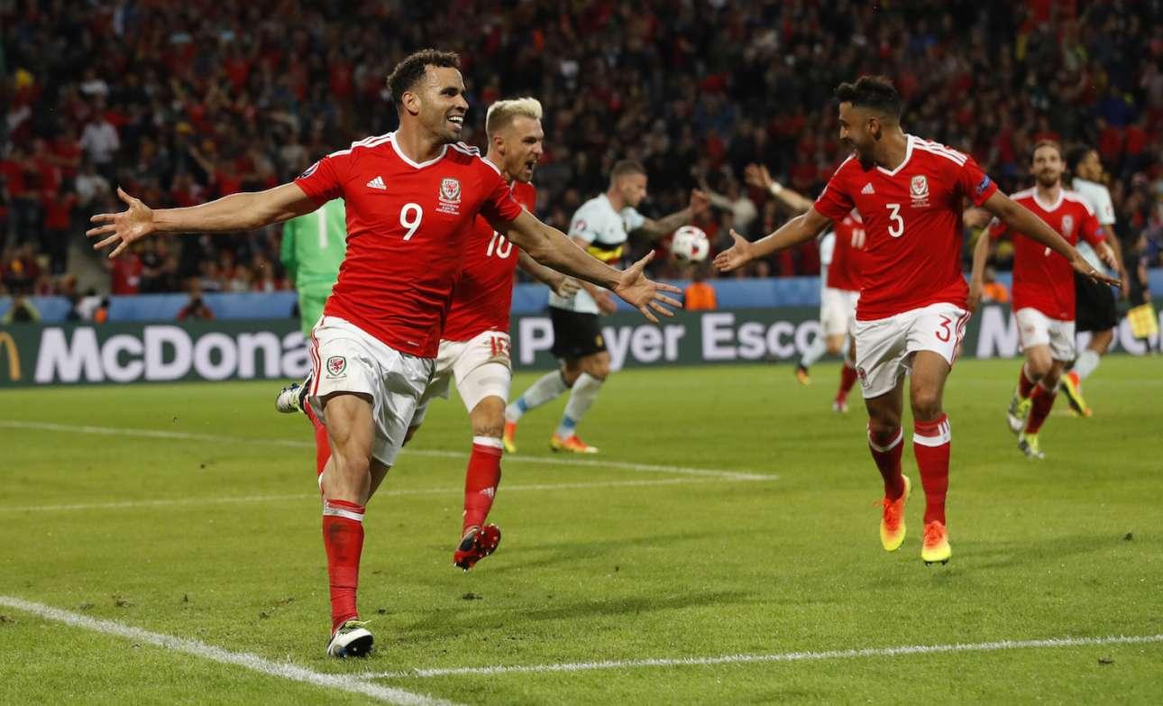 Μόλις έγινε το 2-1, η ανατροπή! (Reuters)