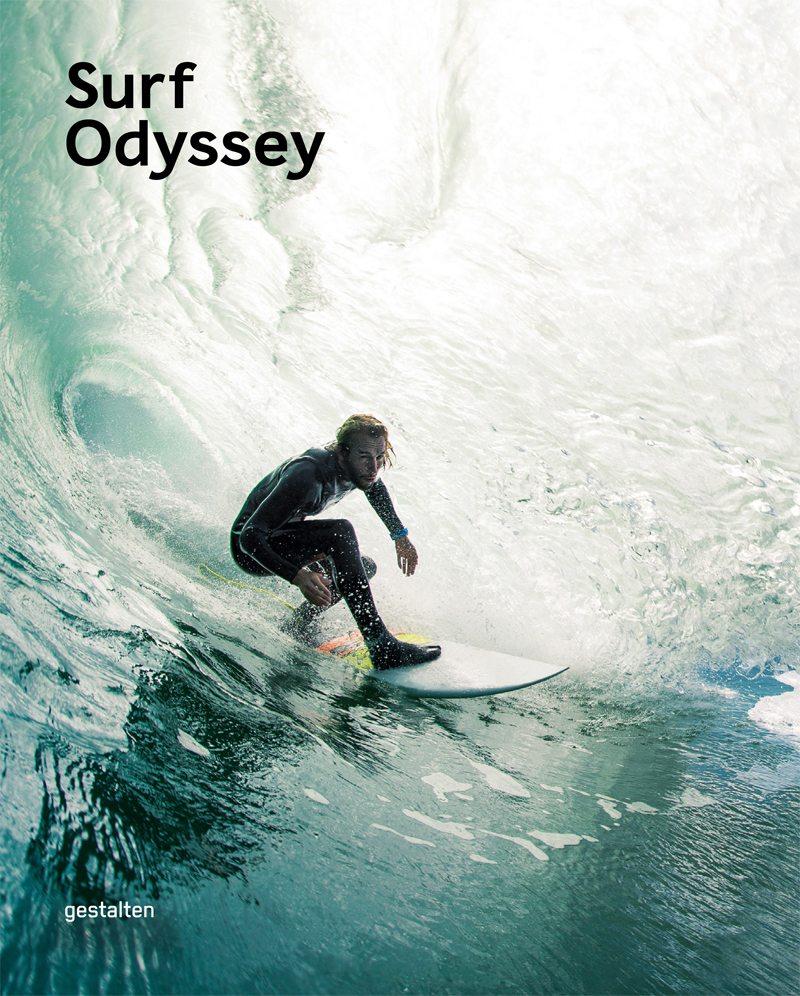 Το εξώφυλλο του φωτογραφικού λευκώματος «Surf Odyssey», εκδόσεις Gestalten
