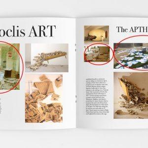 Με τον τίτλο «The APTH Project» προσπάθησαν να περάσουν τις καταστροφές στον κατάλογο έργων του Κώστα Τσόκλη (Σε κύκλο τα πλαστά έργα).