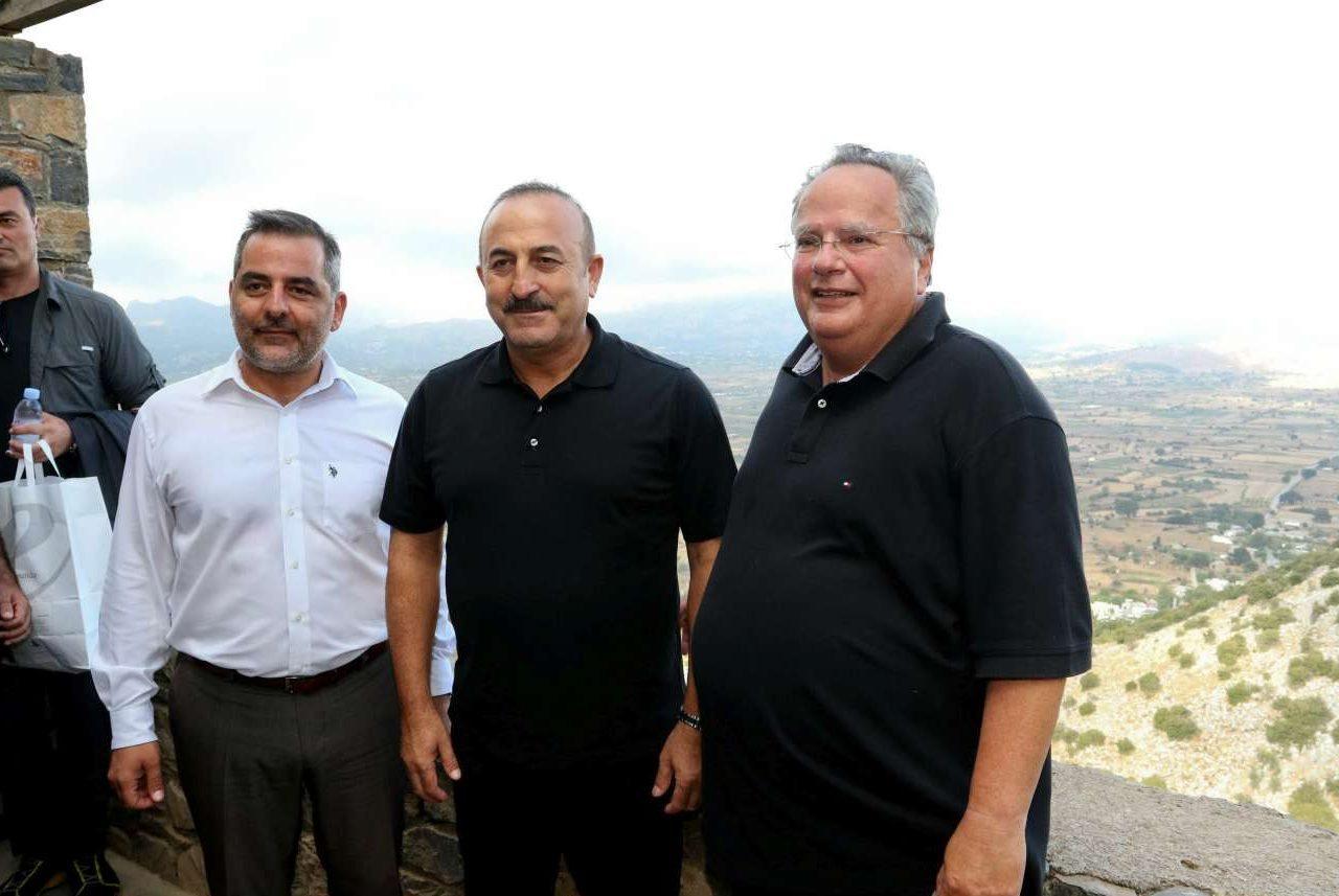 Οι δύο άνδρες, μετά την ολοκλήρωση της συζήτησης που είχαν σε ξενοδοχείο στην Ελούντα, αναχώρησαν για το Λασίθι και το Δικταίον Αντρον, το σπήλαιο του Δία