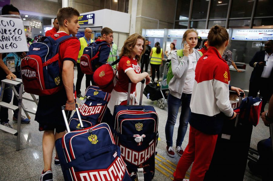 H Ρωσία φτάνει στο Ρίο υπό τη σκιά του ντόπινγκ