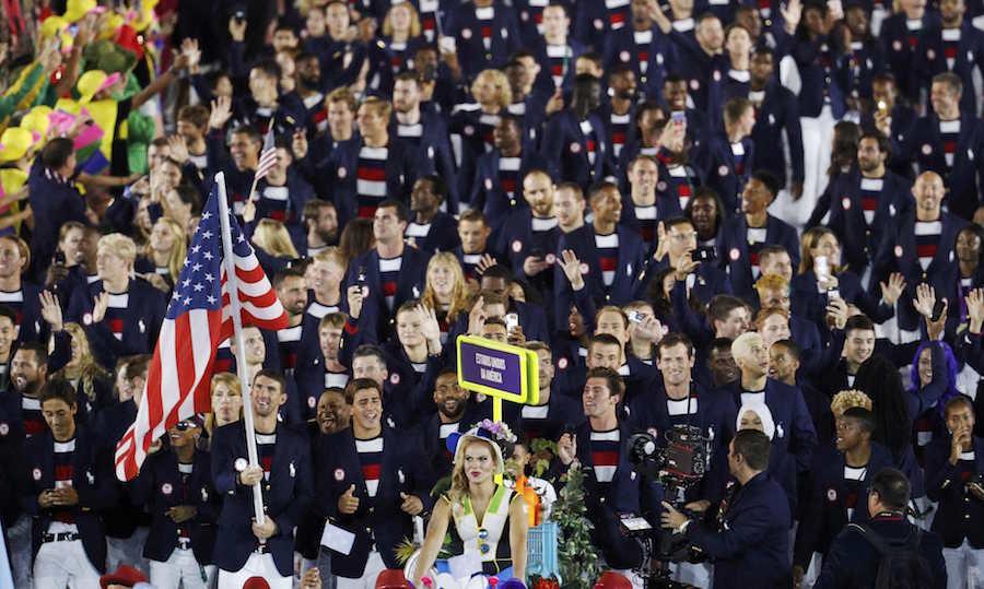 Η μεγαλύτερη αποστολή, των ΗΠΑ, με σημαιοφόρο τον Μάικλ Φελπς