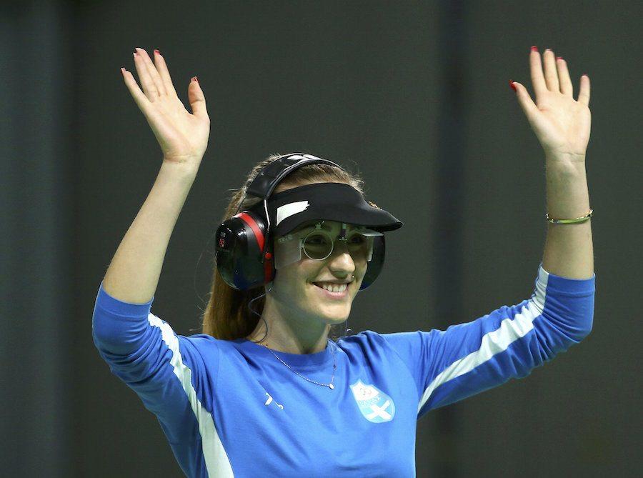 H Aννα πανηγυρίζει στο Ρίο