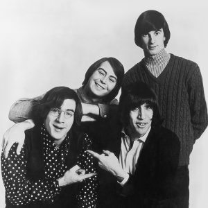 1960s rock band Lovin' Spoonful, 1966. From left to right, they are John Sebastian, Joe Butler, Zal Yanovsky and Steve Boone, 1966. (Photo by Evening Standard/Hulton Archive/Getty Images)