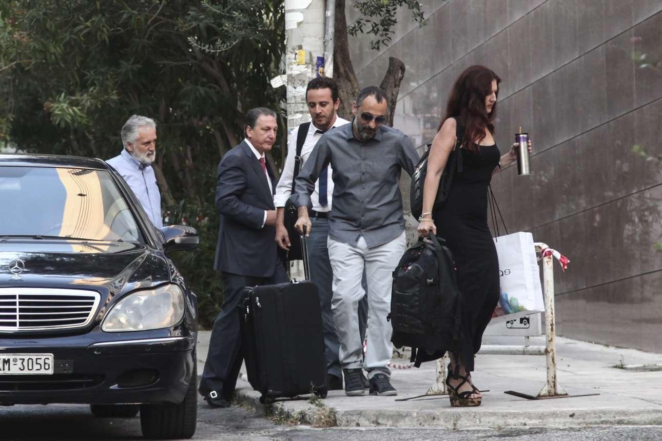 Η ομάδα Καλογρίτσα προσέρχεται στο διαγωνισμό που έδωσε χρήμα στο δημόσιο ταμείο, αλλά το πολιτικό κόστος δείχνει τώρα μεγάλο (Nikos Libertas / SOOC)