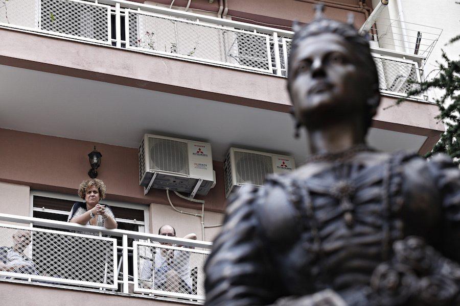 Η Λεωφόρος εκτός από το όνομα, έχει πλέον και το άγαλμα