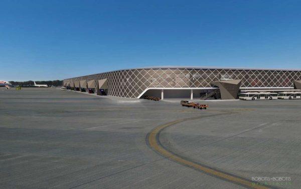 Η ανανεωμένη εξωτερική όψη του Αεροδρομιου Μακεδονία_2