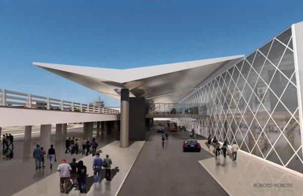Η ανανεωμένη εξωτερική όψη του Αεροδρομιου Μακεδονία_4