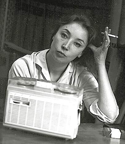 20060915 - ROMA - SPE - ORIANA FALLACI E' MORTA A FIRENZE. Oriana Fallaci in una foto del 5 luglio 1963. Oriana Fallaci e' morta la notte scorsa in un ospedale di Firenze. Aveva 77 anni. Soffriva di un male incurabile. ANSA - KRZ