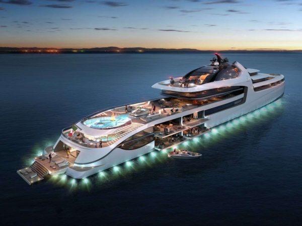 Super Yacht Dubai blogger Image