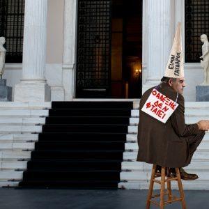 Ο Νίκος Τόσκας θα μείνει έτσι τρεις ολόκληρες μέρες για να δείξει ότι ο Αλέξης Τσίπρας ΔΕΝ ΦΤΑΙΕΙ για τα χημικά στους συνταξιούχους