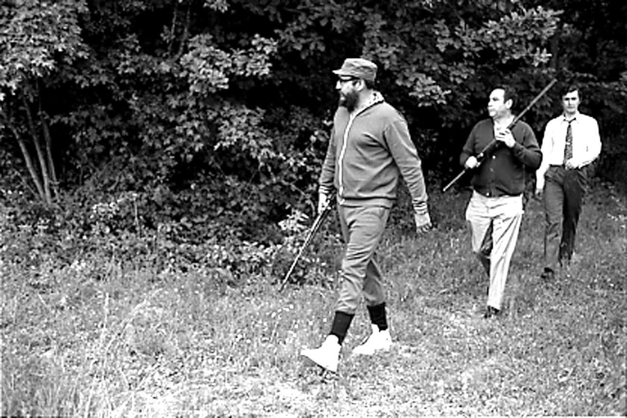 Με εκδρομικό στιλ. Κυνηγώντας σε δάσος της Ρουμανίας το 1972