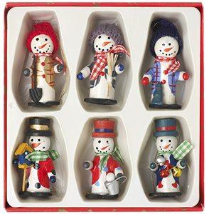 Christmas Snowman Hanging Ornaments