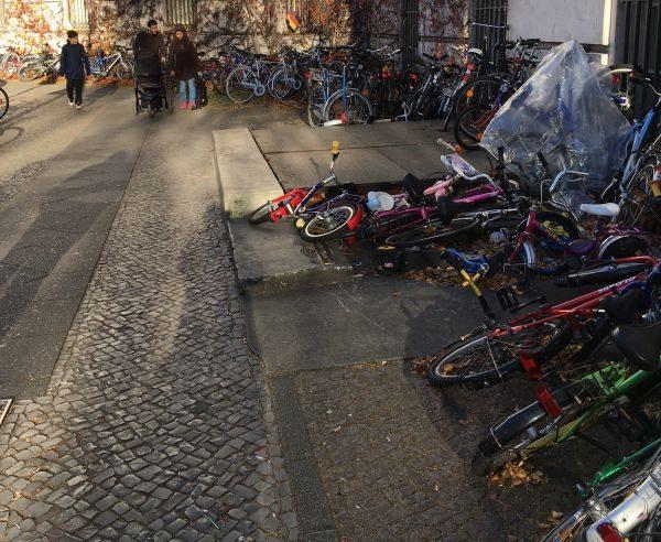 Τα ποδήλατα είναι των προσφύγων