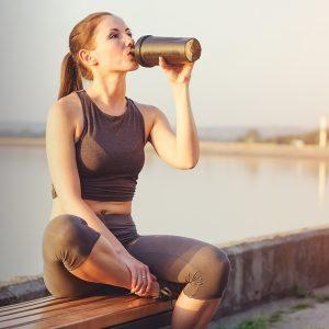 drinking protein shake_478844497-1290