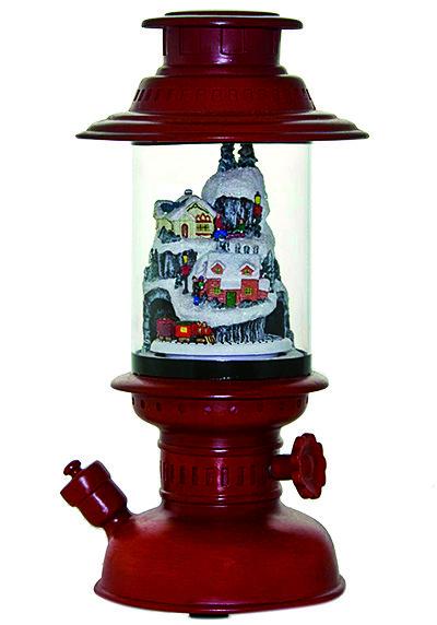 xmas lamp with light_2