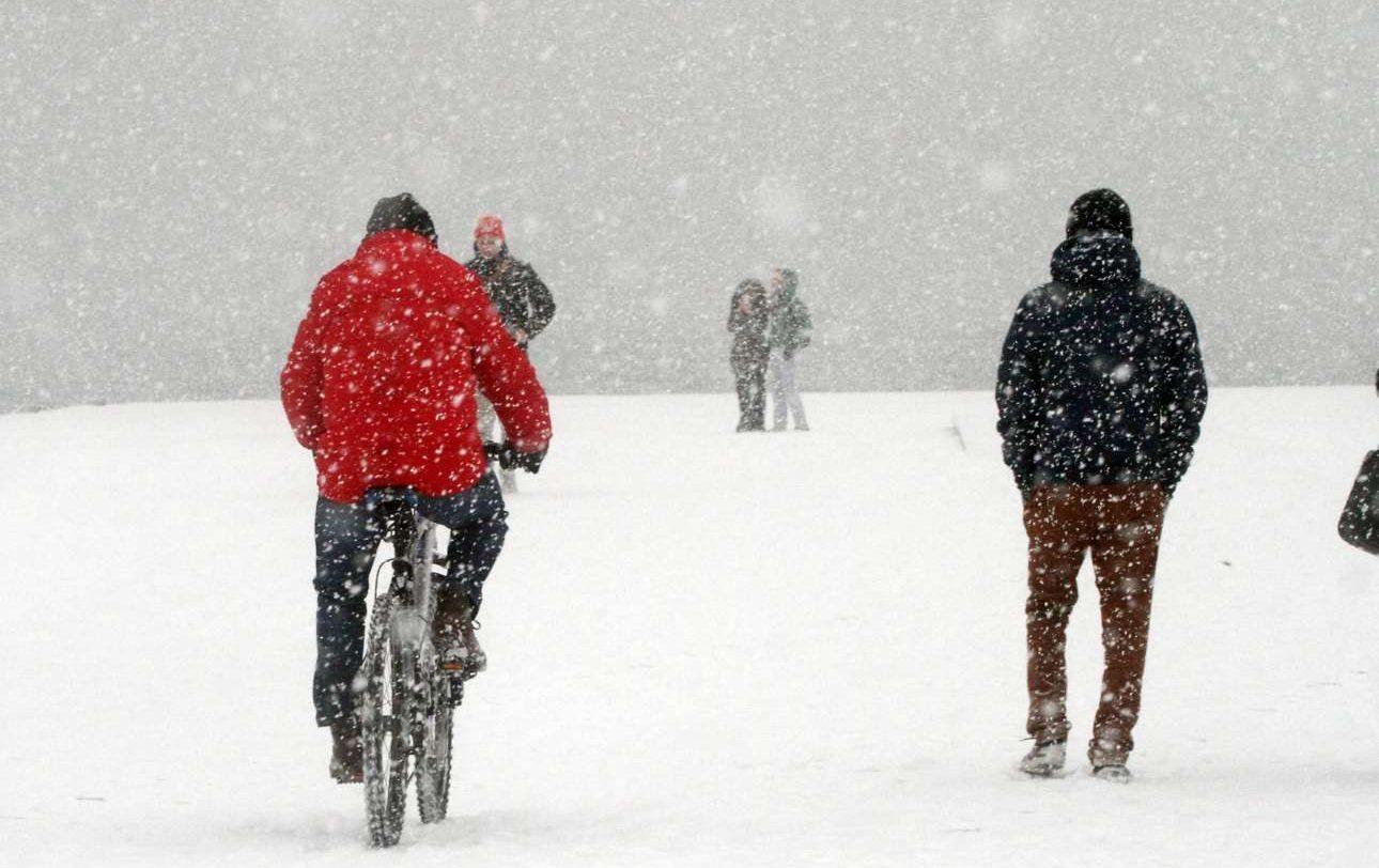 Το ποδήλατο είναι ένας τρόπος να μετακινηθείς. Αλλιώς πόδια...