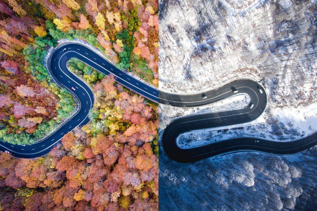 Φθινοπωρινά και χειμωνιάτικα χρώματα στη γενέτειρα του «Δράκουλα», την Τρανσυλβανία