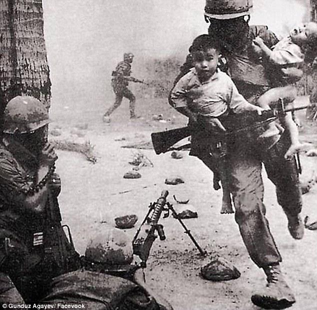 some soldier safe children