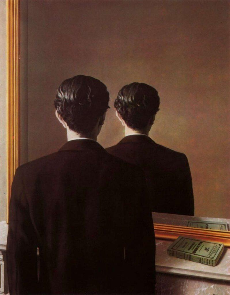 Ο εμβληματικός πίνακας του μεγάλου σουρεαλιστή Ρενέ Μαγκρίτ «Αυτοπορτραίτο»