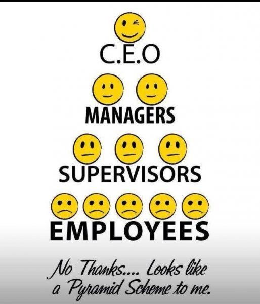 ceo-managers-supervisors-employees...-no-thanks-looks-like-a-pyramid-scheme-to-me