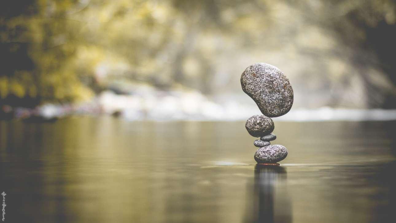 Οι πέτρες μοιάζουν σαν να αιωρούνται