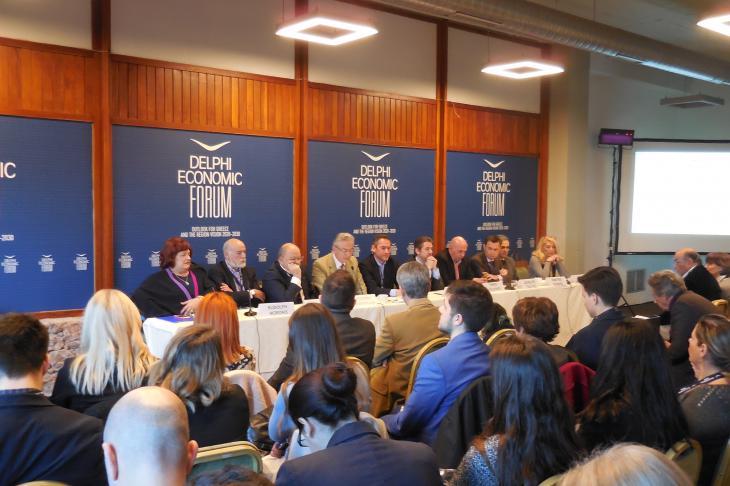 Στη συζήτηση για τα media ο κ. Ξυδάκης χαρακτήρισε την ΕΡΤ τριτοκοσμική