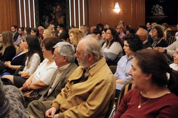 Η συμμετοχή του κοινού ήταν μεγάλη και με καίρες παρατηρήσεις