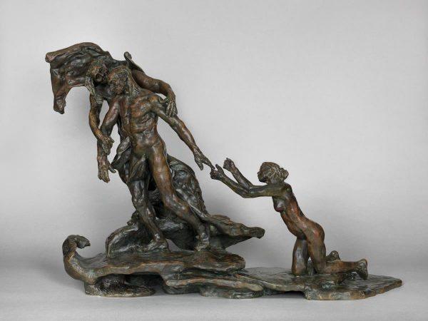 L'Age mûr 1890-1907 bronze