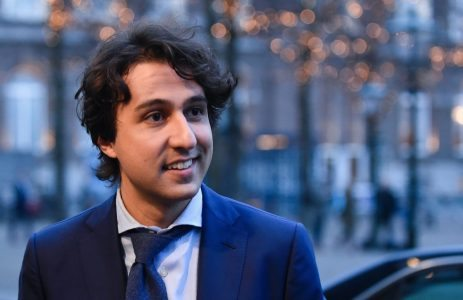 2017-03-14 19:35:34 Dutch Green Party (Groen Links) leader Jesse Klaver arrives before a televised debate in The Hague on March 14, 2017, a day before legislative elections.Dutch politicians hit the airwaves and the campaign trail on March 14, battling to win over undecided voters in the final countdown to an election overshadowed by an acrimonious row with Turkey. / AFP PHOTO / JOHN THYS