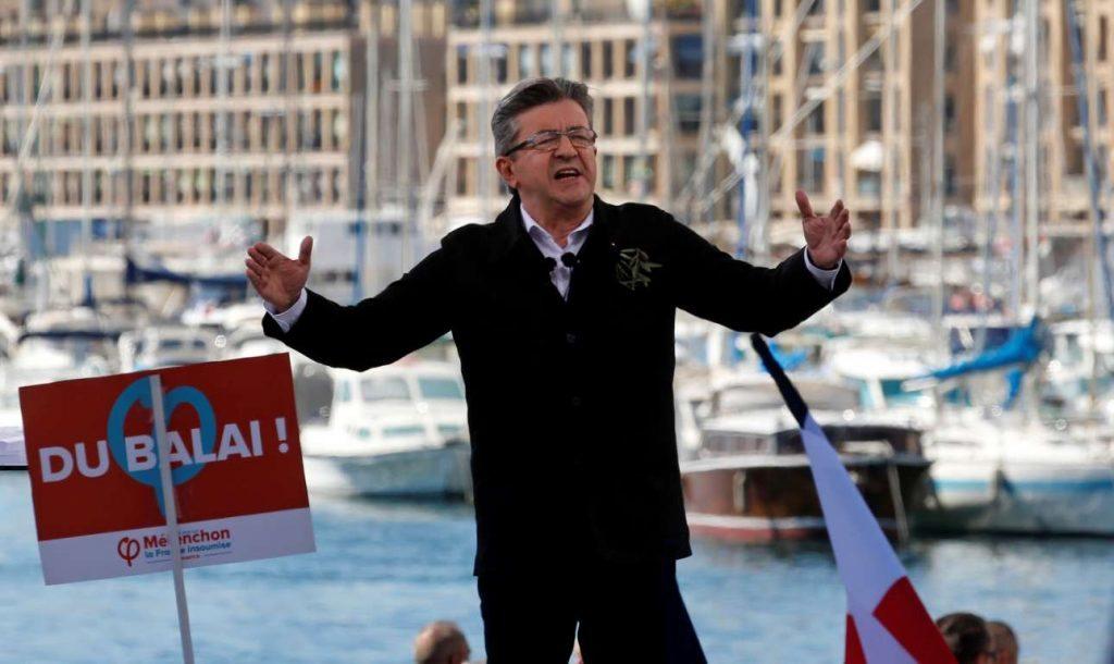 Αποτέλεσμα εικόνας για Γαλλικές εκλογές Μελανσόν αφίσες