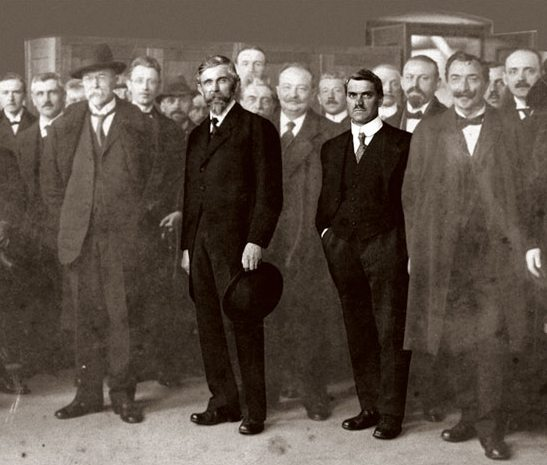Laurin_&_Klement_founders_1895