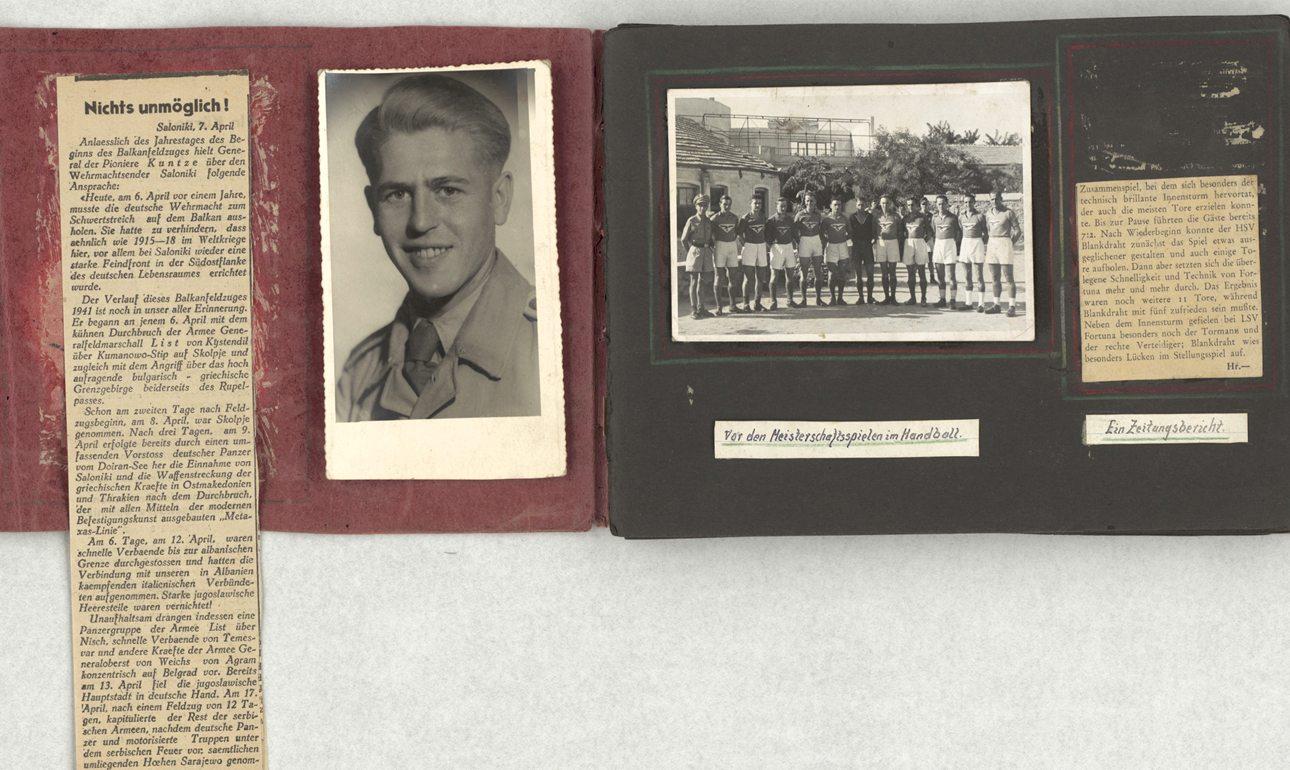 Το φωτογραφικό άλμπουμ ενός ανώνυμου γερμανού αξιωματικού που υπηρέτησε στη Θεσσαλονίκη, διατηρημένο στο σύνολό του