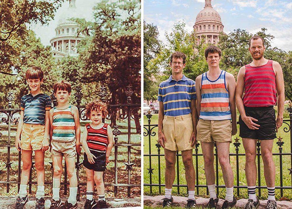 Τρία αδέλφια, εικοσιεννέα χρόνια μετά