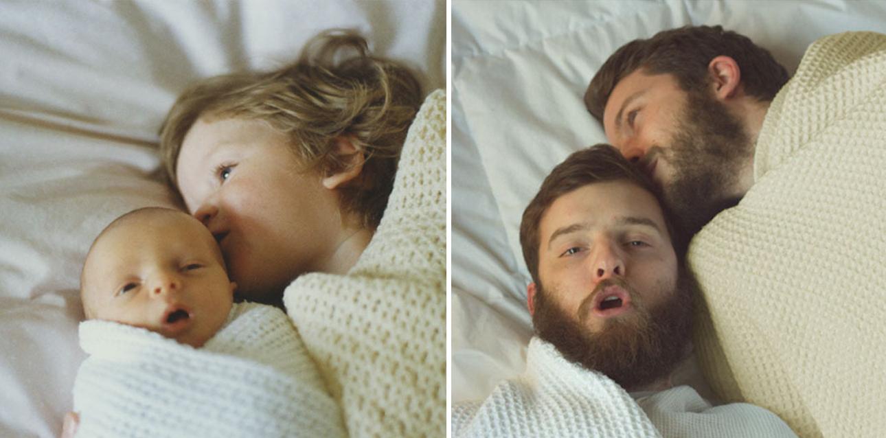 Τα δύο αδέλφια ξεκίνησαν να αναπαριστούν φωτογραφίες της παιδικής τους ηλικίας για να δημιουργήσουν ένα χαριτωμένο ημερολόγιο ως χριστουγεννιάτικο δώρο για τη μητέρα τους. Ενθουσιασμένοι με το αποτέλεσμα και τη διαδικασία συνέχισαν να τις μοιράζονται και στα κοινωνικά δίκτυα, με μεγάλη απήχηση